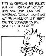 Calvin rant