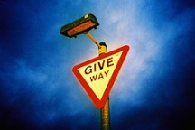 give way, by slimmer jimmer, with Creative Commons licence
