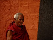 Monk in Tibet, by TommyChui, with Creative Commons licence