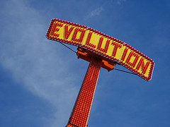 Evolution - The Ride, by kevindooley, with Creative Commons licence