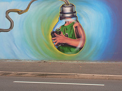 Graff idea, by La Caille, with Creative Commons licence