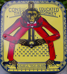'Consul' The Educated Monkey ... by the Happy Robot, with Creative Commons licence