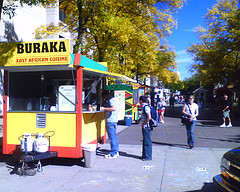 Cavalcade of Ethnic Food Stands, UW-Madison, by Sylvar, with Creative Commons licence