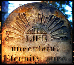 Life uncertain, by Robby Garbett, with Creative Commons licence