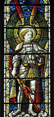 St Michael, by Lawrence OP, with Creative Commons licence
