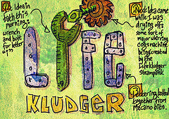 Lifekludger first idea, by Roy Blumenthal, with Creative Commons licence