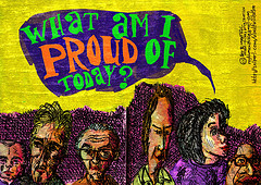 What am I proud of today? by Roy Blumenthal, with Creative Commons licence