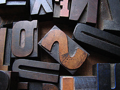 Letters, by jmtimages, with Creative Commons licence