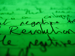 Negative Revolution, by Grim Reaper With A Lawnmower, with Creative Commons licence