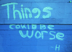 Even though things could better, by Darwin Bell, with Creative Commons licence
