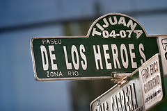 Paseo de los Heroes, by nathangibbs, with Creative Commons licence (Attribution-Noncommercial-Share Alike 2.0 Generic)