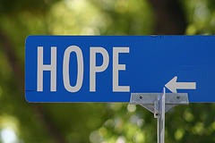 Hope, by My Own Worst Nightmare, with Creative Commons licence (Attribution-Noncommercial-Share Alike 2.0 Generic)
