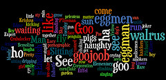 Fun with Wordle, by DailyPic, with Creative Commons licence (Attribution-Noncommercial 2.0 Generic)